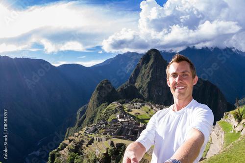 Photo  Selfie in Machu pichu