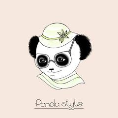 Fototapeta Panda cute panda