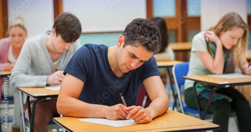 Fotografia  Students in an exam