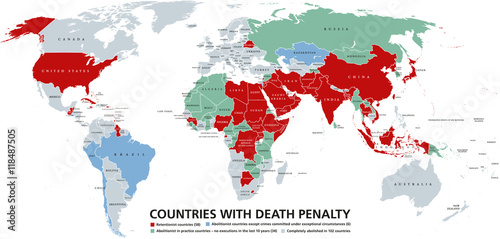 Death penalty countries world map retentionist states with capital death penalty countries world map retentionist states with capital punishment in red color abolitionist publicscrutiny Image collections