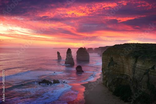 Fotografía  Sunset of Twelve Apostles