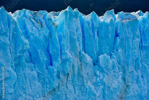Fotobehang Gletsjers Close-up view of the Perito Moreno glacier in Patagonia, Argentina.
