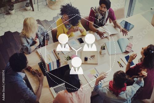 Collaboration Alliance Agreement Partnership Concept Canvas-taulu