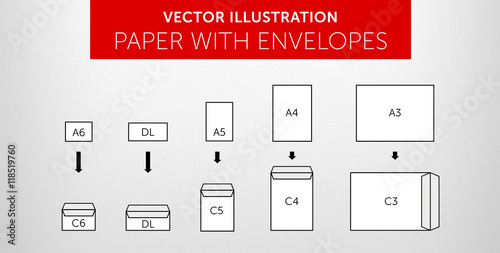 Photo  Vector International papers & envelopes - size & format vol.1