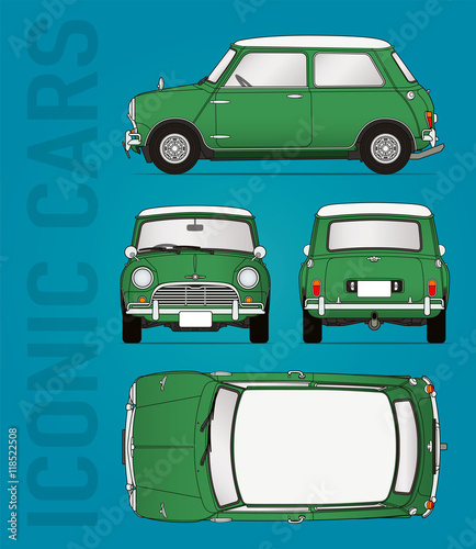 Classic car blueprint - Buy this stock vector and explore similar ...