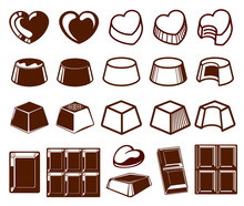 Chocolate Vecotor Icons