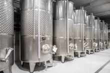 Metal Tanks For Wine Fermentat...