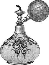 Vintage Image Perfume Bottle