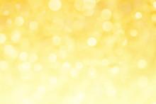 Abstract Yellow Light Bokeh Fo...