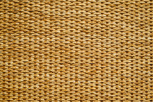 Wicker Pattern Of Canes And Yarns