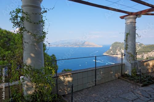 The Public Gardens Of The Villa San Michele Capri Island