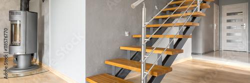 Modern stairs idea Fototapeta