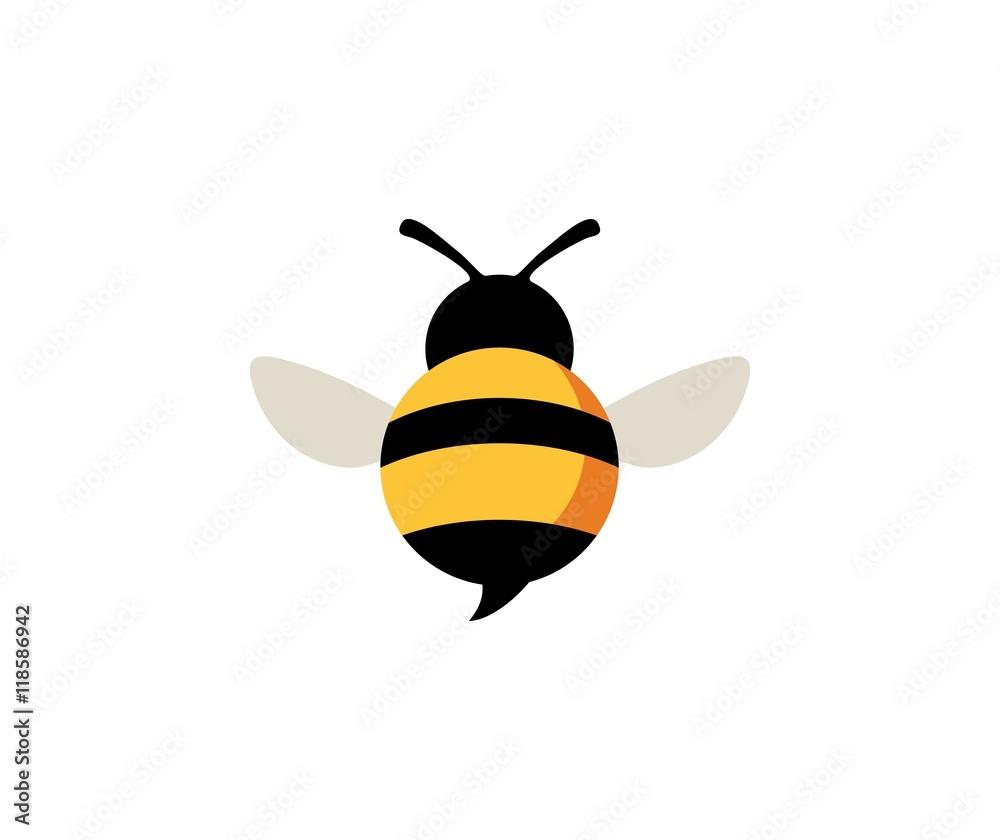 Fotografie, Obraz Bee logo