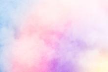 Rainbow Clouds Background