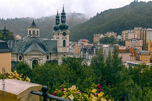Fototapeta  Karlovy Vary in August