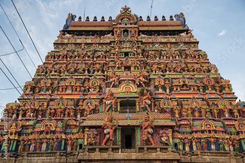 Foto op Plexiglas Temple Ancient temple of South India