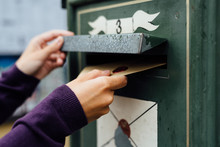 Posting Letter To Old Postbox ...