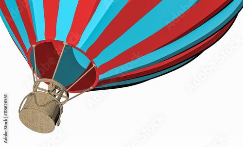 Poster Montgolfière / Dirigeable Hot air balloon