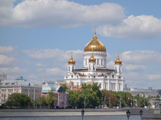 Fototapeta Moskwa Christ the Saviour cathedral in Moscow