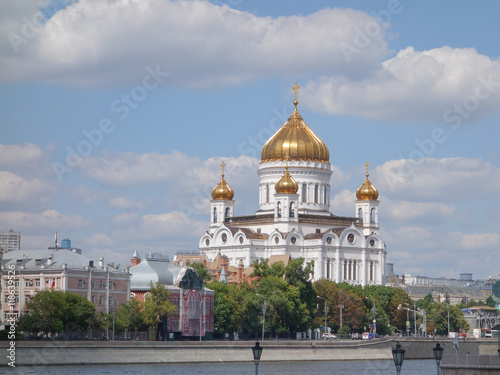 Christ the Saviour cathedral in Moscow - 118639526