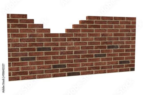 Fotografie, Obraz  Brick wall