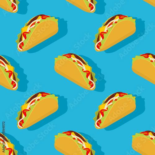 taco-bezszwowy-wzor-tradycyjne-meksykanskie