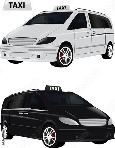 Taxi Autonoleggio monovolume Tapéta, Fotótapéta