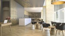 3d Rendering Luxury Hotel Rece...