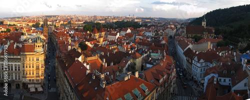 Fototapeta Praga skyline