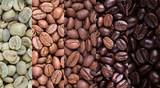 Fototapeta Kawa jest smaczna - Coffee bean collage