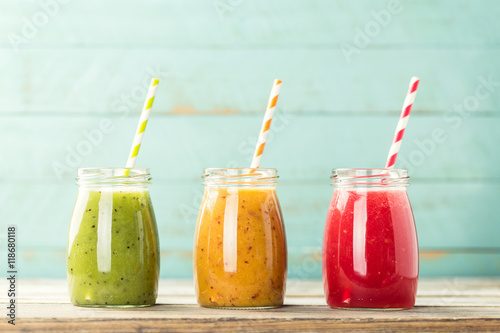 Photo detox smoothie drinks