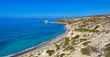Aphrodite's Rock and Bay in Cyprus