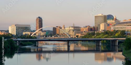 Foto  Downtown Des Moines and the Des Moines River