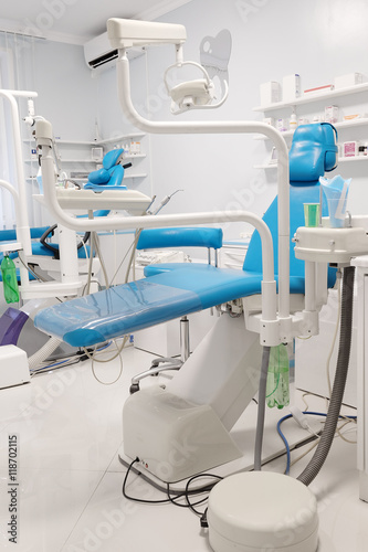 Equipment of a modern dental room - Buy this stock photo and