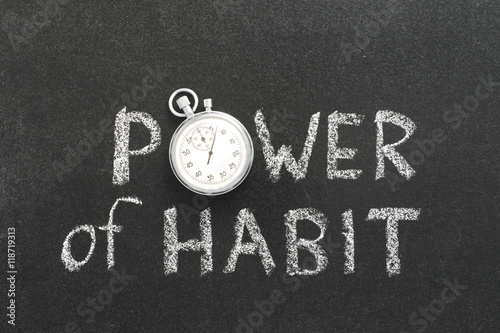 Fotografía  power of habit watch