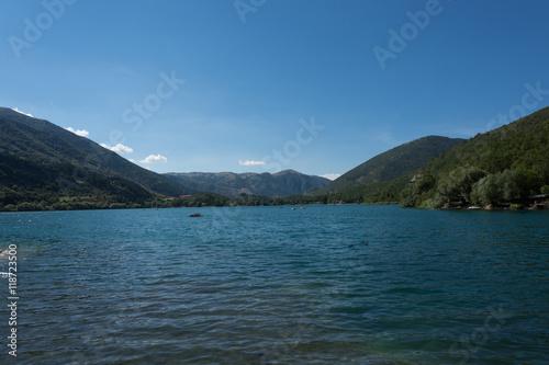 Fotografia, Obraz  Scanno (AQ), il lago