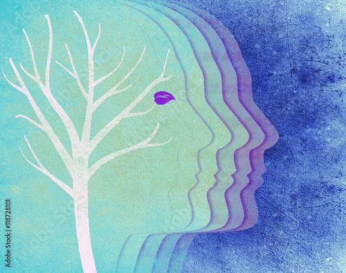 ksztalt-ludzkiej-glowy-na-tle-bialego-drzewa-abstrakcja