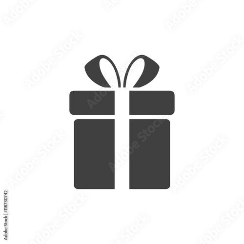 Vector Illustration of a Gift Icon Fototapeta