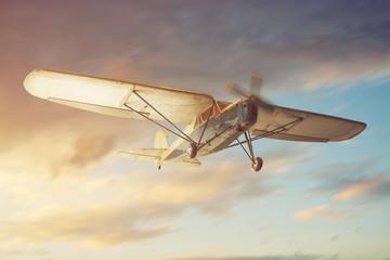 Fototapeta na wymiar Old Airplane