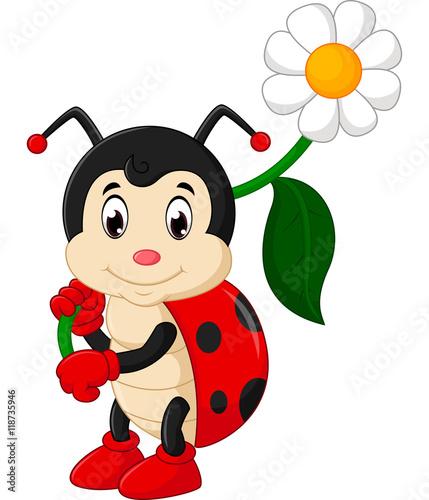 Fototapeta premium Ladybug cartoon