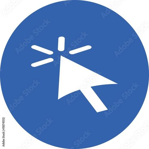 mouse computer pointer arrow click communication business