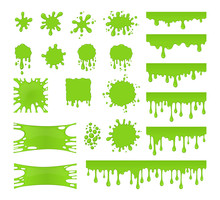 Slime Vector Set. Collection O...