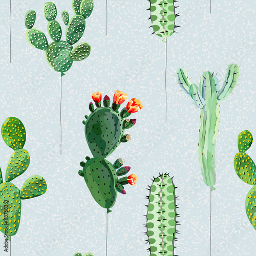Cotton fabric Balloons in the form of cactus