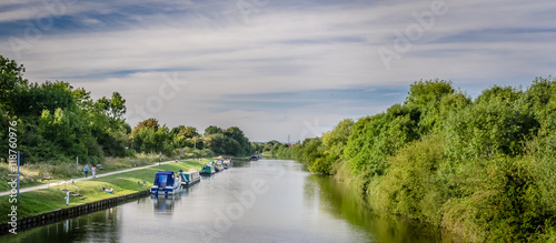Gloucester canals Fototapet