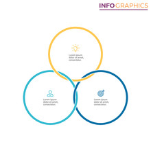 Connected Circles For Infograp...