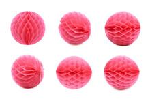 Honeycomb Pom-pom Ball Decorat...
