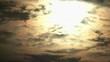 4K・曇り日の夜明けの太陽・タイムラプス_3-516