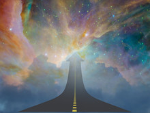 Highway To Heaven Elements Of This Image Furnished By NASA