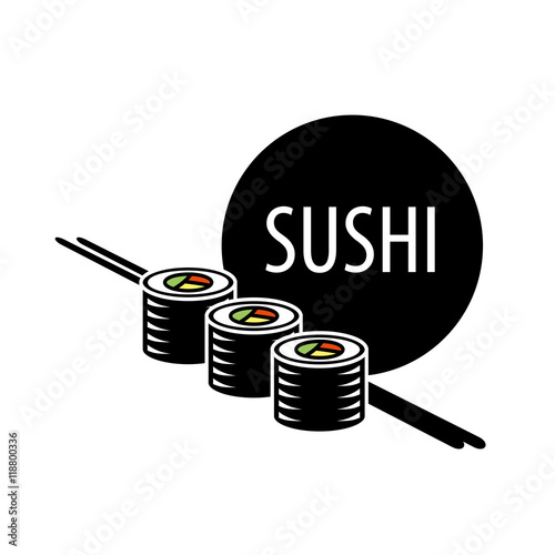 vector sushi logo - 118800336