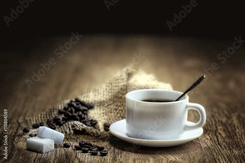 Wall Murals Coffee beans expresso